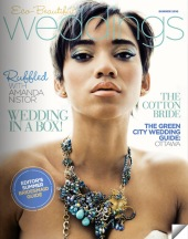 "Cover model is wearing the Klewism ""Augury of Spring"" Necklace"